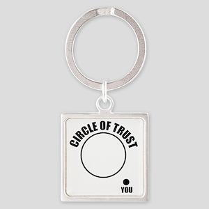 circleOfTrust1 Square Keychain