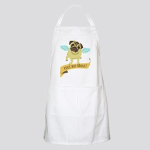 pugs-not-drugs-wings Apron