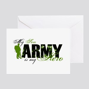 Son Hero3 - ARMY Greeting Cards