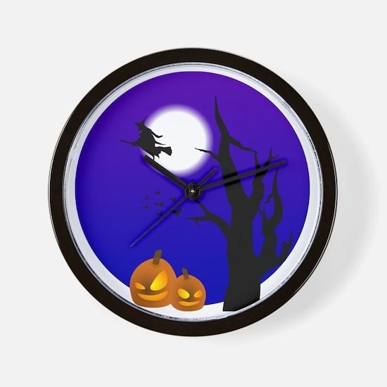 halloween2 Wall Clock