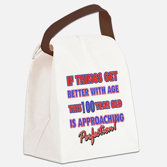 100 Canvas Lunch Bag