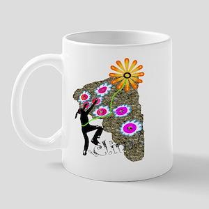 Young Girl Flower Climber Mug