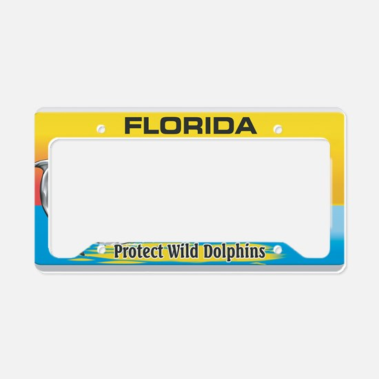 License Plate Dolphin License Plate Holder