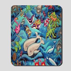 fun-under-the-sea-fish Mousepad