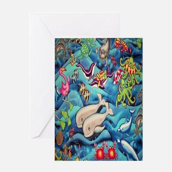 fun-under-the-sea-fish Greeting Card