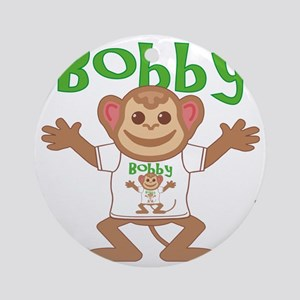 bobby-b-monkey Round Ornament