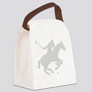 POLOSHIRTwhite Canvas Lunch Bag