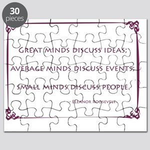 Eleanor_Roosevelt_Great_Minds_purple Puzzle