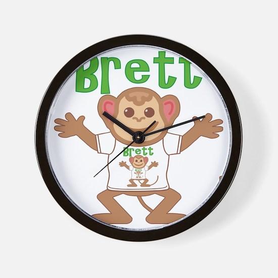 brett-b-monkey Wall Clock