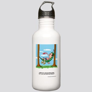 darnthing-greetingcard Stainless Water Bottle 1.0L