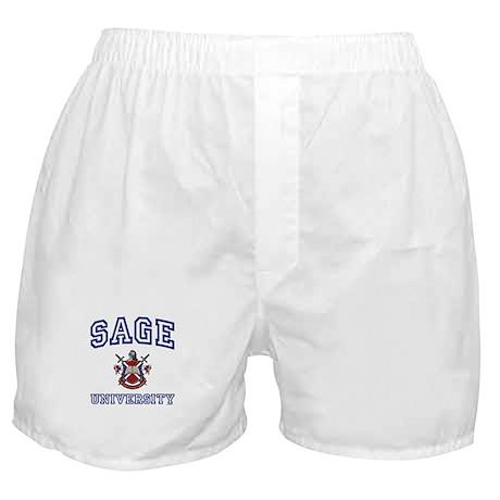 SAGE University Boxer Shorts
