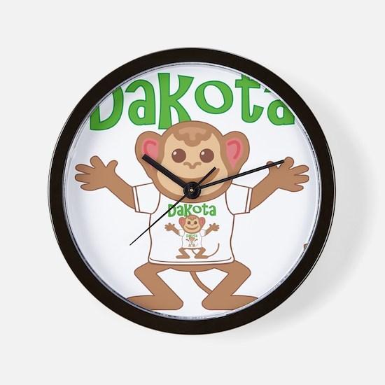 dakota-b-monkey Wall Clock