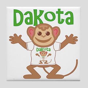 dakota-b-monkey Tile Coaster