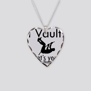 vault Necklace Heart Charm