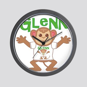 glenn-b-monkey Wall Clock