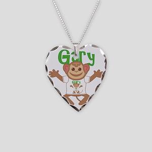 gary-b-monkey Necklace Heart Charm
