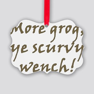 Grog Picture Ornament
