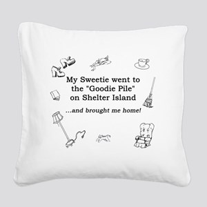 Goodie Pile-Robert Square Canvas Pillow