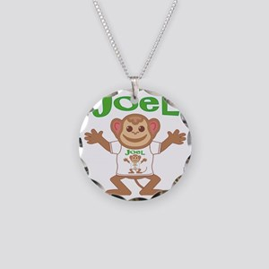 joel-b-monkey Necklace Circle Charm