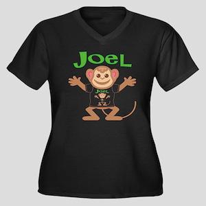 joel-b-monke Women's Plus Size Dark V-Neck T-Shirt