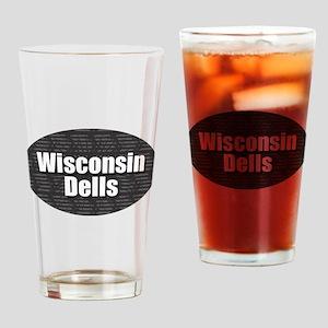 Wisconsin Dells Drinking Glass