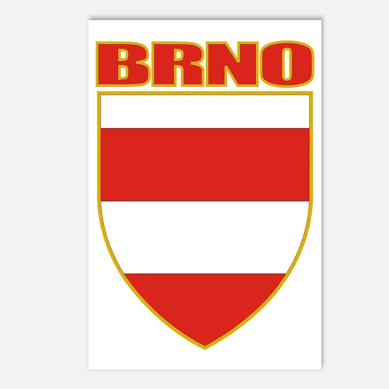 Brno COA (gold) Postcards (Package of 8)