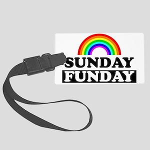 sundayfundayrainbow Large Luggage Tag