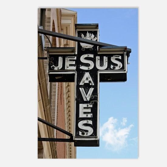 6774 Jesus Sign Postcards (Package of 8)