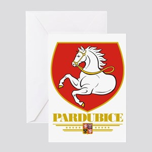 Pardubice COA (Flag 10) Greeting Card