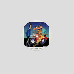 7430_dog_cartoon Mini Button