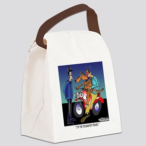 7430_dog_cartoon Canvas Lunch Bag