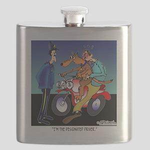 7430_dog_cartoon Flask