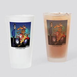 7430_dog_cartoon Drinking Glass