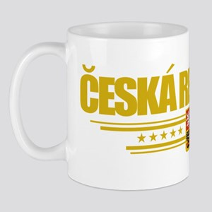 Czech Republic (Flag 10) pocket Mug