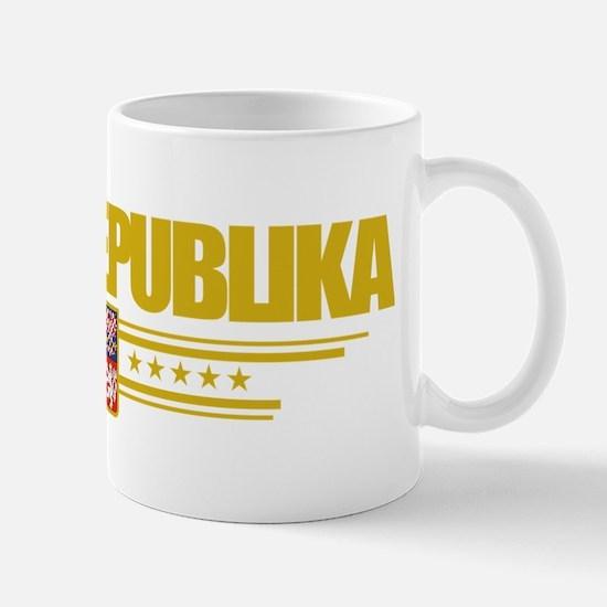 Czech Republic (Flag 10) pocket Mug