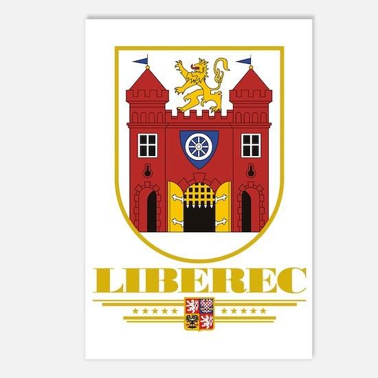 Liberec COA (Flag 10) Postcards (Package of 8)