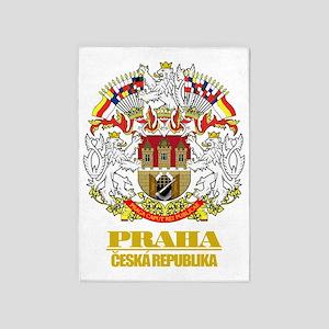 Praha (Prague)2 COA 5'x7'Area Rug