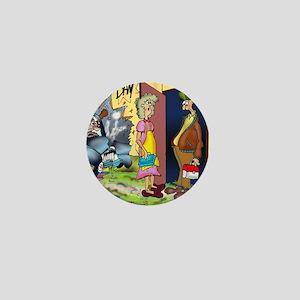 6708_accident_cartoon Mini Button