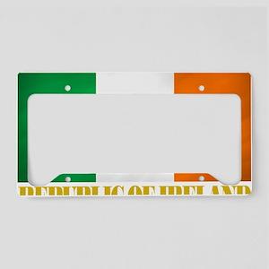 Republic of Ireland Flag (eri License Plate Holder
