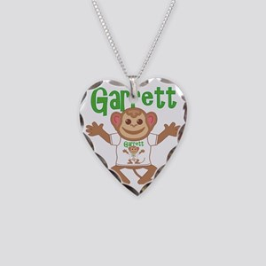 garrett-b-monkey Necklace Heart Charm