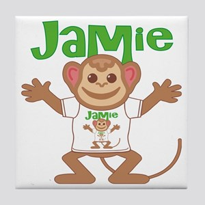 jamie-b-monkey Tile Coaster