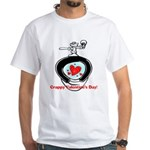 Crappy Valentine's Day White T-Shirt