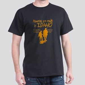 Memories Idaho Black T-Shirt