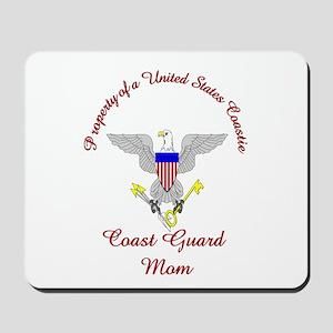coast guard mom Mousepad