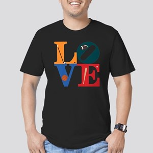 Philly Sports Love Men's Fitted T-Shirt (dark)
