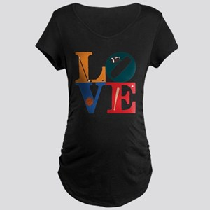 Philly Sports Love Maternity Dark T-Shirt