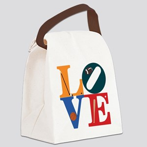 Philly Sports Love Canvas Lunch Bag