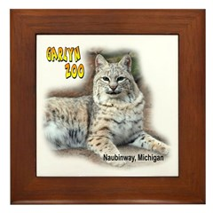 Bobcat Framed Tile