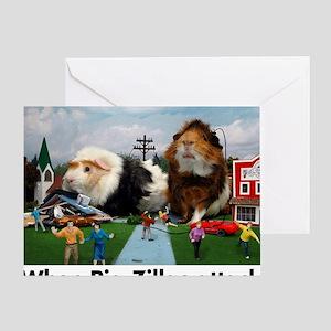 pigZillasBig Greeting Card