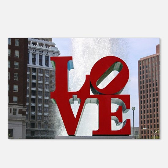 7780 Love Postcards (Package of 8)